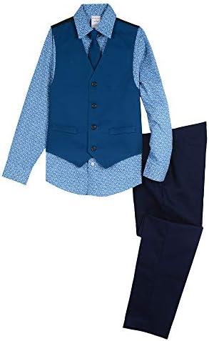 Van Heusen Boys 4-Piece Formal Dresswear Vest Set