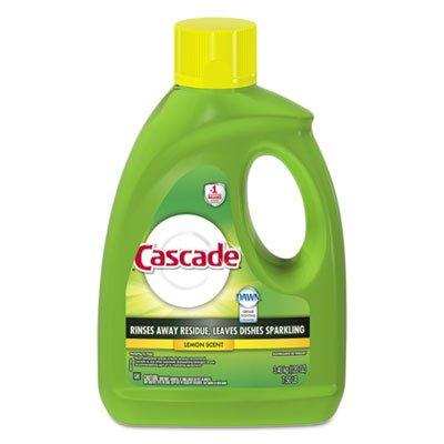 Cascade Automatic Dishwasher (Cascade Gel Dishwasher Detergent, Lemon Scent, 120-Ounce (Pack of 4))