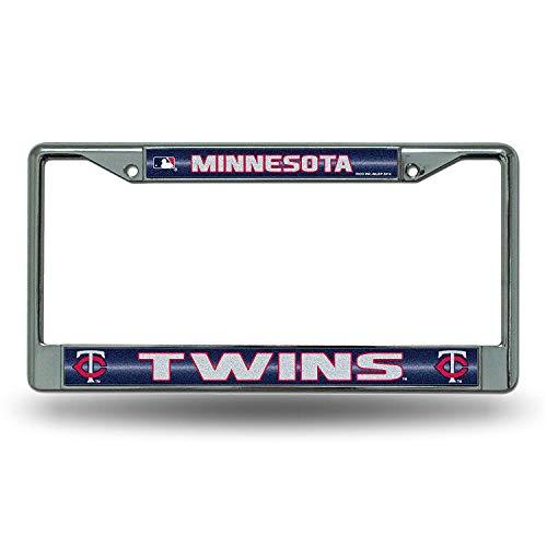 Minnesota Twins MLB Bling Chrome License Plate Frame