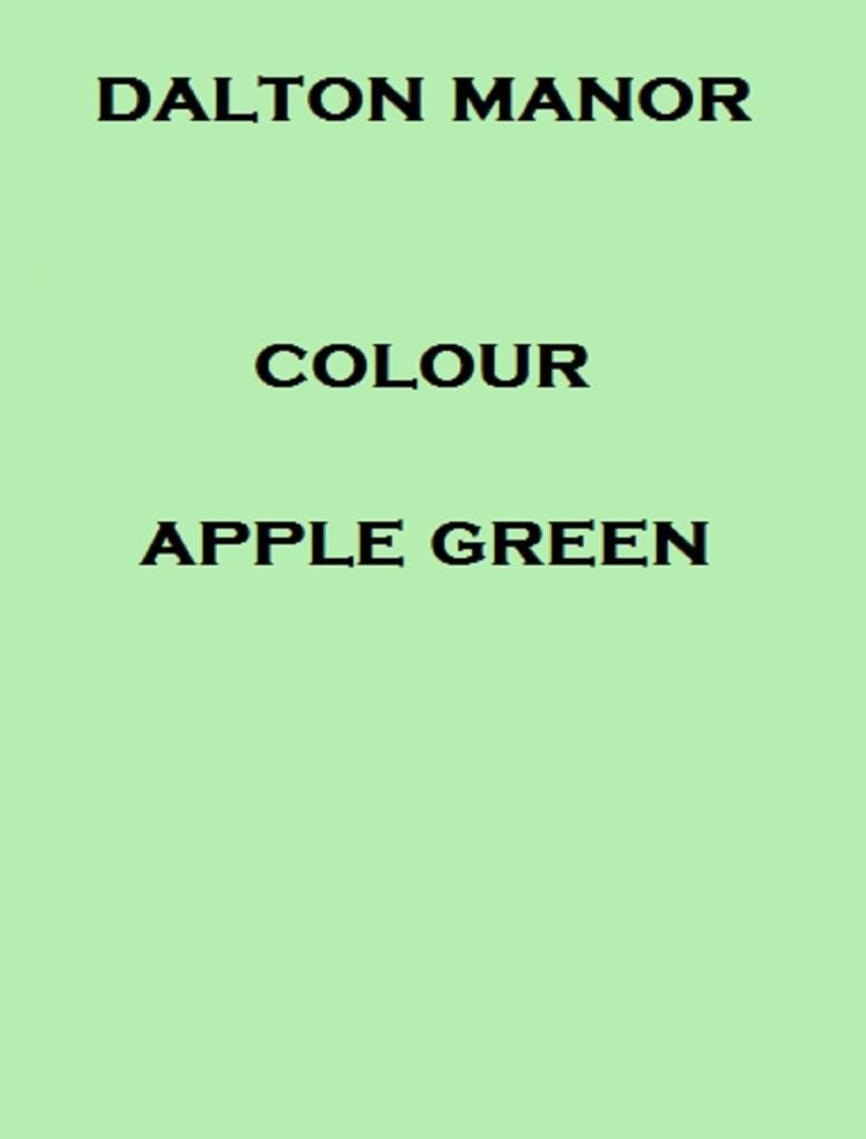 A4 COLOURED PAPER 50 SHEET PACK COLOUR - APPLE GREEN: Amazon.co.uk ...