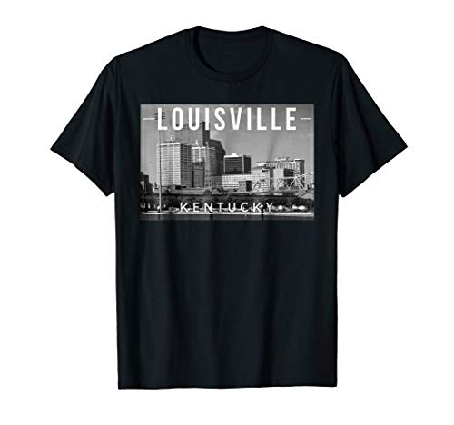 Louisville Kentucky KY Derby City Skyline - Tee -