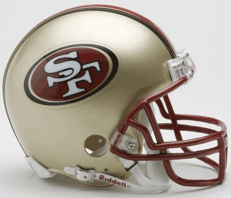Riddell San Francisco 49ers Replica Mini Helmet