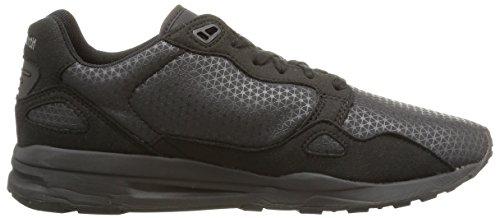 Le Coq Sportif Lcs R900 - Zapatillas de Deporte de lona hombre negro - Noir (Black/Black/Silicone Print)