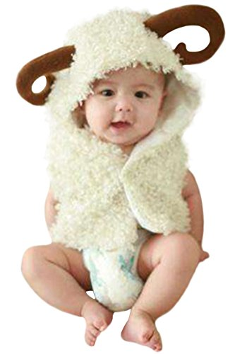 Ace Halloween Toddlers Infant Cute Sheep Animal Costumes (Cute Infant Halloween Costumes)