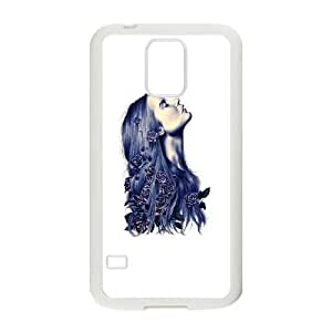 Samsung Galaxy S5 Cell Phone Case White Bloom Tgszs