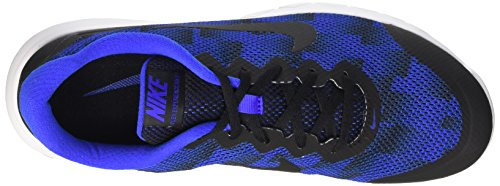 Nike Men's Flex Experience Rn 4 Prem Running Shoes Multicolore (Black/Racer Blue-white) d8ktB