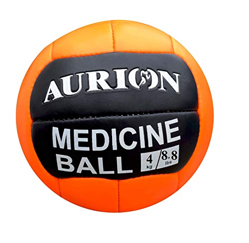 AURION Leather Medicine Ball