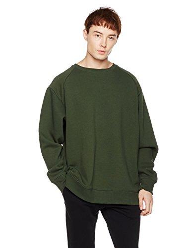 - Something for Everyone Men's Pullover Fleece Sweatshirt Medium Kombu Green