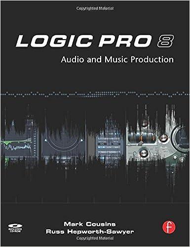 Audio and Music Production Logic Pro 8