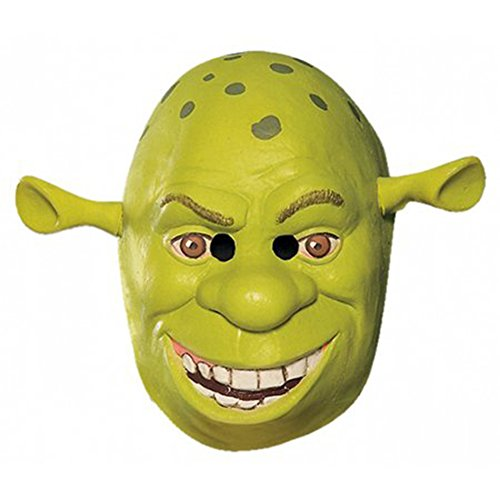Shrek Costumes Kids Mask (Shrek 34 Vinyl Mask Child Costume Mask)