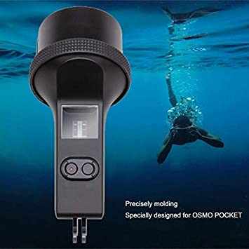 Hurricanes Original Diving Case 60 Meters Dive House Protective Shell Camera Waterproof House with Anti-Fog Inserts for DJI OSMO Pocket