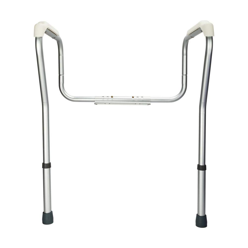 reakfaston Toilet Safety Rails Stand Alone Toilet Safety Grab Rail for Elderly and Handicap