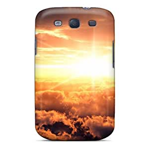 Perfect Sunset Sunrise Clouds Landscapes Sun Case Cover Skin For Galaxy S3 Phone Case