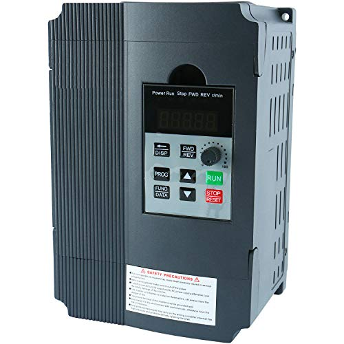- 2.2KW 220V AC 12A Single Phase Variable Speed Control Drive Frequency Converter