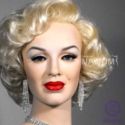 Marilyn Monroe Lolita Hermosa peluca de cosplay con gorro de ...