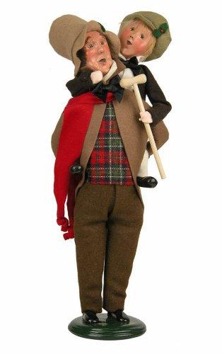 Byers' Choice Bob Cratchit & Tiny Tim #209