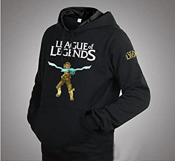 League of Legends sudadera con capucha, colour negro, talla XL: (172 - 180 cm, 70-85 kg): Amazon.es: Deportes y aire libre