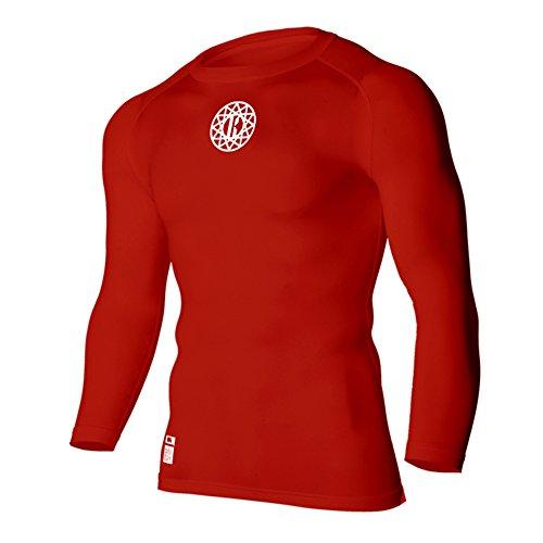 仕立て屋メイエラまたKMG Men'sメンズ プレミアム コンプレッション ベースレイヤー Tシャツ Premium Compression Baselayer T Shirts (Flatlock Stitch)