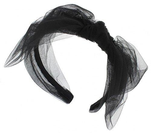 Jennifer Ouellette Fashion Tully Tulle Headband for Women]()