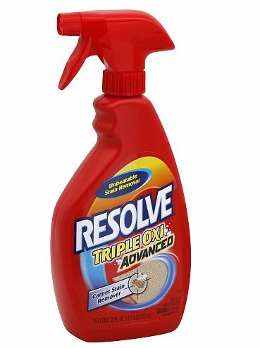 Resolve Triple Oxi Advanced Spot Carpet Stain Remover 22 fl oz (651 ml),3 pk