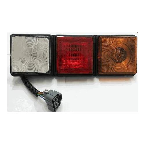 Image of Rubbolite 8003 Left Side Rear Lamp 12v Brake & Tail Light Assemblies