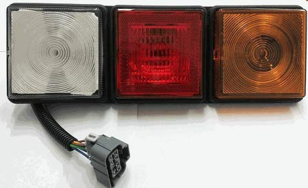 Rubbolite 8003 Left Side Rear Lamp 12v