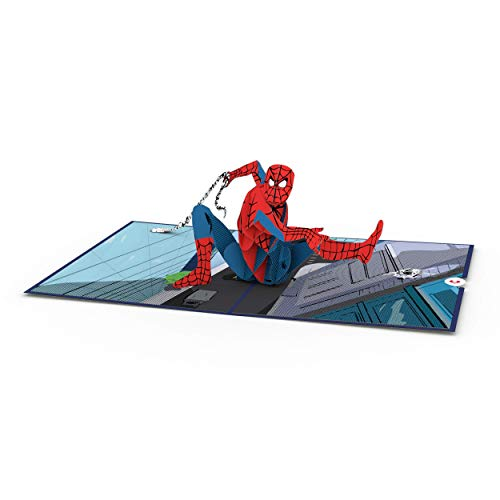 Marvel's Spider-Man Pop Up Card, 3D Card, Birthday Card for Him, Pop Up Greeting Cards