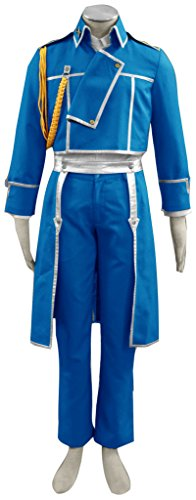 Dazcos Fullmetal Alchemist Roy Mustang Adult Cosplay Costume