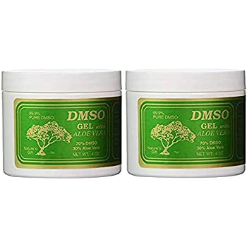 Amazon com: DMSO 90% DMSO Gel w/Aloe Vera 4 Oz: Home & Kitchen