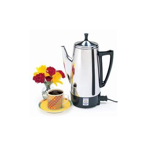 Presto 02811 12 Cup Stainless Steel Coffee Maker by WalterDrake