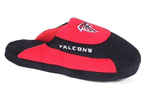 Pro Comfy NFL OFFICIALLY and Falcons Feet Low Mens Slippers Feet LICENSED Atlanta Low Happy Pro Womens TqrxvFT