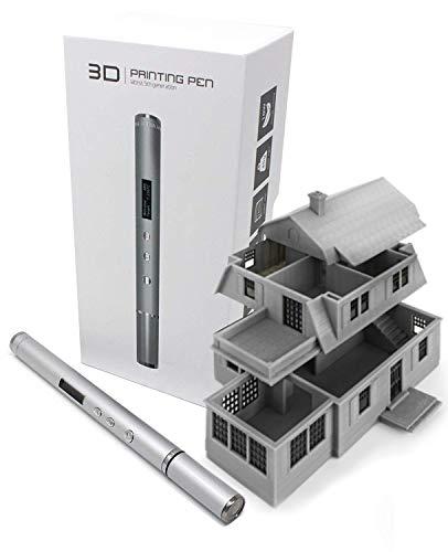 Precision Pro 3D Printing Pen - Super Slim - All Aluminum - Architectural Grade