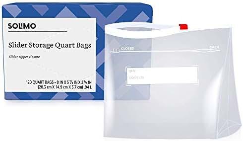 Food Storage Bags: Solimo Slider