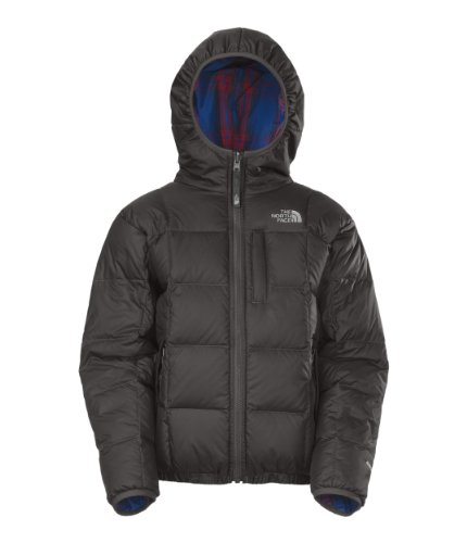 2c6deaea1 The North Face Boy's Reversible Moondoggy Jacket Graphite Grey XXS by The  North Face