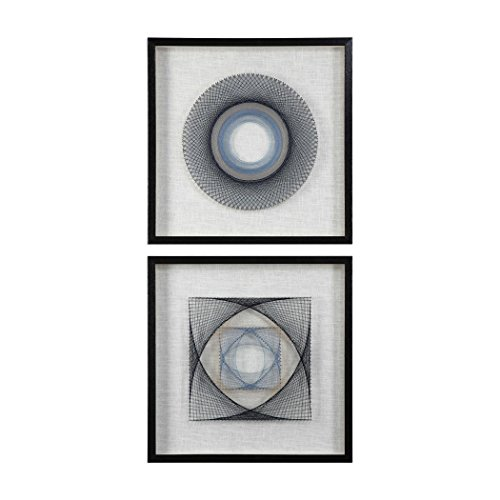 (Uttermost String Duet Square Wall Decor 2 Piece - 04111)
