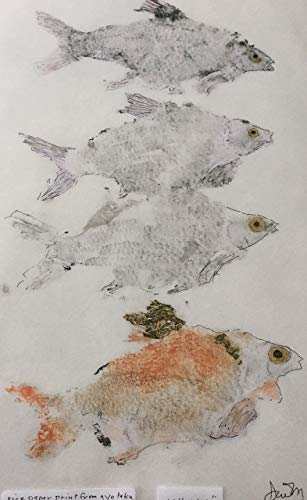 Gyotaku limited edition print, 11