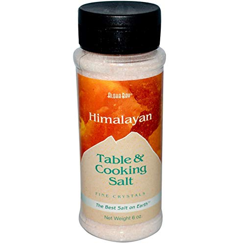 Aloha Bay Himalayan Table And Cooking Salt Fine Crystals -- 6 oz