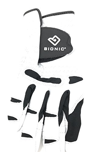 (Bionic Glove Mens Stablegrip With Natural Fit Golf Glove Regular White Right.)