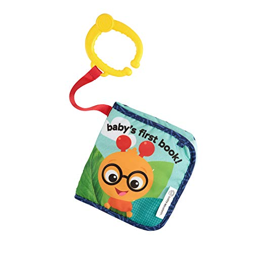 picture of Baby Einstein Explore and Discover Soft Book Toy (Design May