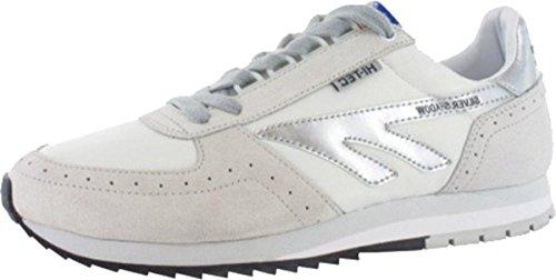 Nuevo Hi-Tec Silver Shadow Unisex Running Zapatos Atletismo Zapatillas tamaños 7–12, plata