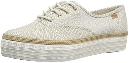 Keds Women's Triple Dalmata Dot Leather Fashion Sneaker