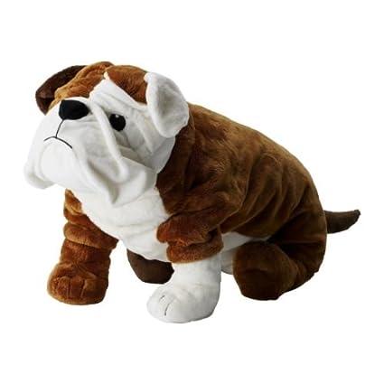 Peluche perro bulldog IKEA