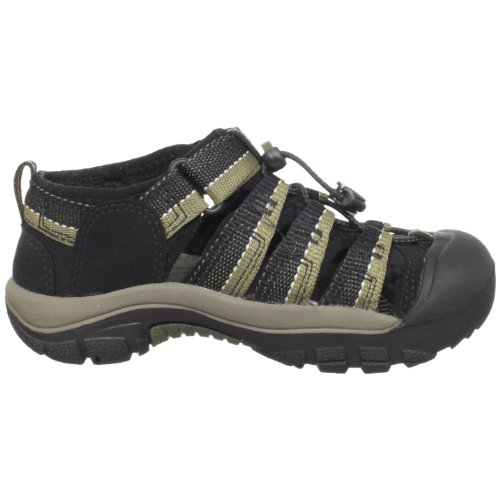 KEEN Newport H2 Sandal (Toddler/Little Kid/Big Kid),Black/Stone Gray,13 M US Little Kid by KEEN (Image #6)