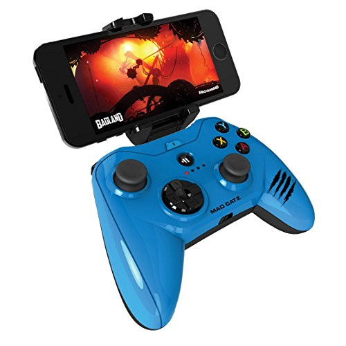 - Apple Certified Mad Catz Micro C.T.R.L.i Mobile Gamepad and Game Controller Mfi Made for Apple TV, iPhone, and iPad - Blue