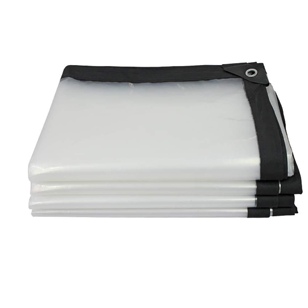 3x3m GLP Bordure épaissie Transparente Feuille de Plastique imperméable et imperméable perforée Film de Culture de Serre de Fleur de Balcon (180g   M²) Disponible dans Une variété de Tailles Clair
