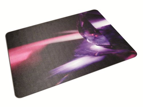 "Colortex Polycarbonate Chair Mat for Carpets/Floors, 48"" x 36"", Reflective Gem (FC) - FLOORTEX 229220ECRG"