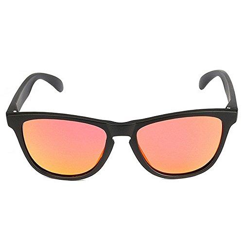 Gafas para para Gafas Sol De Polarizadas de Color Sol Hombres Hombre Red Mujeres LBY HD Azul Y AfqzA7