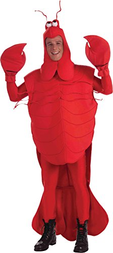 Forum Novelties Craw Daddy Crawfish Adult Costume,Red,Std - One size fits most Adults