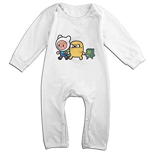 Adventure Time Family Romper,6-24 Month Toddler Onesie,infant Bodysuit Long Sleeve White 18 -