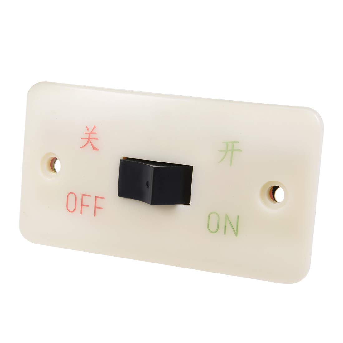 uxcell Start Stop ON Off Momentary Push Button Control Switch Box for Electric Tool 10A